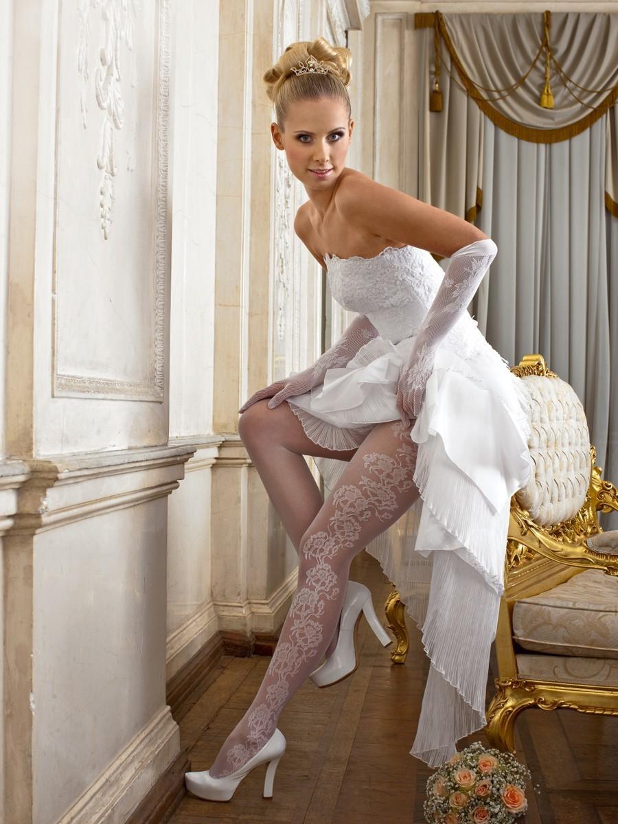 Невеста в колготках фото 134-768